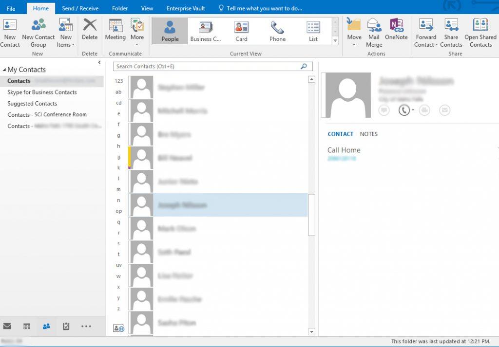 Export Outlook/Exchange Contacts to iCloud - brycematheson io