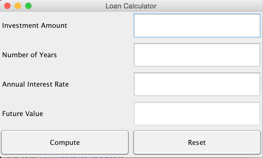 Build a GUI Investment Calculator in Java - brycematheson io